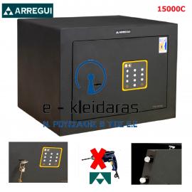 Χρηματοκιβώτιο Arregui Forma 15000C, με κλειδί & κωδικό