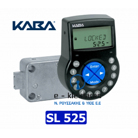 Ηλεκτρονική Κλειδαριά KABA SL-525