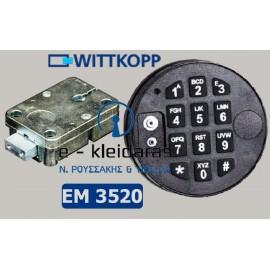 Ηλεκτρονική Κλειδαριά M-Locks EM 3520