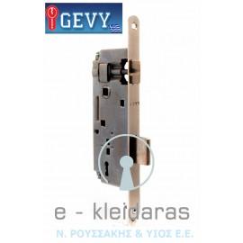 Κλειδαριά μεσόπορτας GEVY, 40 X 90 Οβάλ 18 mm.