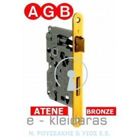 Κλειδαριά μεσόπορτας AGB, από την σειρά ATENE