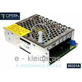 Τροφοδοτικό ρεύματος OPERA, 05331A - 24Vdc - 3A