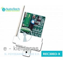 Υπερετερόδυνος Ψηφιακός Δέκτης REC3003-x της AutoTech 1 έως 4 κανάλια για κάθε χρήση