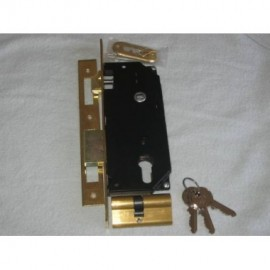 Κλειδαριά Φαρδιά Με Κέντρο 45