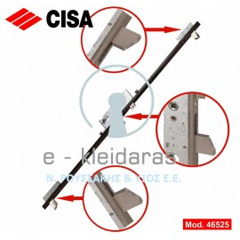Κλειδαριά χωνευτή CISA, με κλείδωμα 3 σημείων, με κωδικό 46525