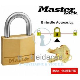 Λουκέτο Ορειχάλκινο, Master Lock, με κωδικό 140EURD