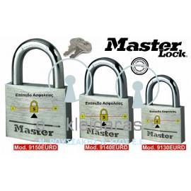 Λουκέτα Αλουμινίου, Master Lock, με κωδικούς 9130, 9140 & 9150 EURD