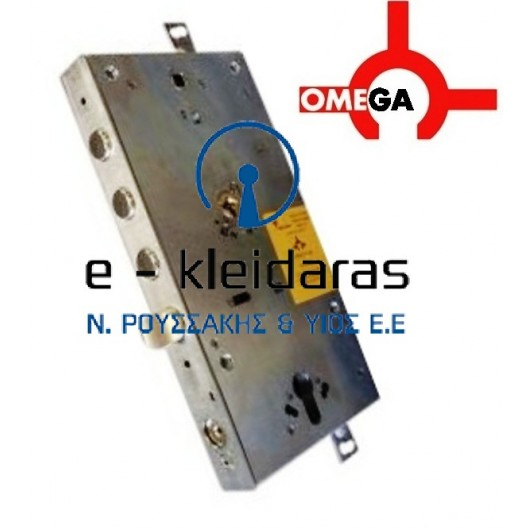Κλειδαριά Ασφαλείας Omega plus 60αρα με τρείς πύρους και extra κλείδωμα τύπου securemme