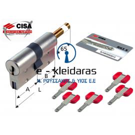 Κύλινδρος Ασφαλείας Cisa RS 3S