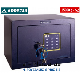 Χρηματοκιβώτιο Arregui Forma Basic 15000B-S2 με κωδικό και κλειδί