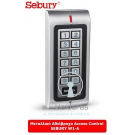 Μεταλλικό Αδιάβροχο Access Control SEBURY W1-A