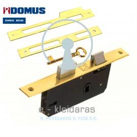 Κλειδαριά μεσόπορτας DOMUS 80340.