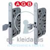 Κλειδαριά μεσόπορτας AGB, από την σειρά Mediana Evolution.