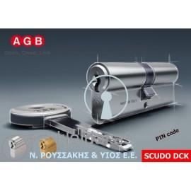 Κύλινδρος Υψηλής Ασφάλειας SCUDO DCK της AGB με PIN code