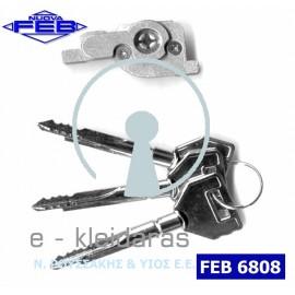 Κυλινδράκι με κλειδί σταυρού από την εταιρεία FEB με κωδικό 6808