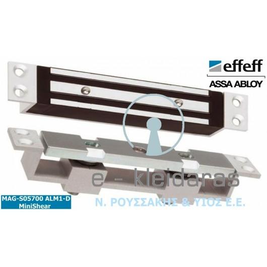 Ηλεκτρομαγνήτης χωνευτός Αλερετούρ eff-eff MAG-S05700 ALM1-D MiniShear Lock