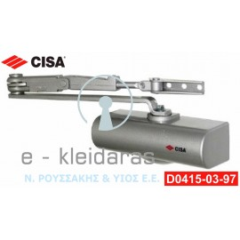 Μηχανισμός επαναφοράς πόρτας (Σούστα) Νο 3 από την εταιρεία CISA, με κωδικό D0415-03-97.