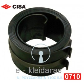 Ελατήριο Σούστας CISA 0710, για τον μηχανισμό επαναφοράς πόρτας 601 CISA μπουκάλα (ή βαρελάκι)