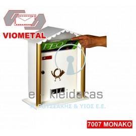 Γραμματοκιβώτιο Viometal Μοντέλο 7007 Monaco