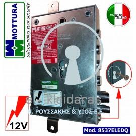 Ηλεκτρική κλειδαριά ασφαλείας κυλίνδρου, MOTTURA, με κωδικό 8537ELEDQ