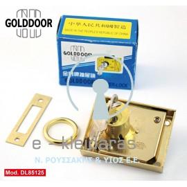 Κλειδαριές Κουτιαστές Γραμματοκιβωτίων Και Συρταριών Κίνας, GOLDDOOR, με κωδικό DL85125