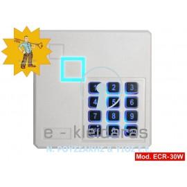 Πληκτρολόγιο ACCESS CONTROL, με κάρτες RFID και κωδικούς χρηστών (4 ψηφίων), με κωδικό ECR-30W